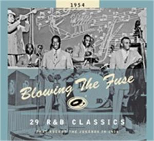 BLOWING THE FUSE 1954 - VARIOUS ARTISTS - 50's Rhythm 'n' Blues CD, BEAR FAMILY