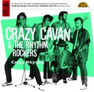 CRAZY RHYTHM - CRAZY CAVAN - TEDDY BOY R'N'R CDs, SNAPPER