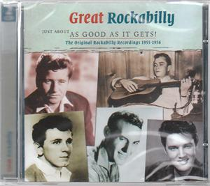 JUST ABOUT AS GOOD AS IT GETS - GREAT ROCKABILLY VOL. 1 (2 CDS) - VARIOUS ARTISTS - 50's Rockabilly Comp CD, SMITH & CO