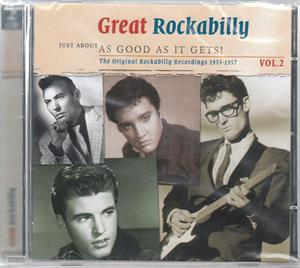 JUST ABOUT AS GOOD AS IT GETS - GREAT ROCKABILLY VOL. 2 (2 CDS) - VARIOUS - 50's Rockabilly Comp CDs, SMITH & CO
