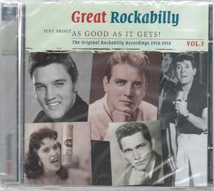 JUST ABOUT AS GOOD AS IT GETS - GREAT ROCKABILLY VOL. 3 (2 CDS) - VARIOUS - 50's Rockabilly Comp CDs, SMITH & CO