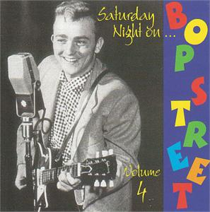 SAT NITE ON BOP STREET VOL 4 - VARIOUS - 50's Rockabilly Comp VINYL, BOP