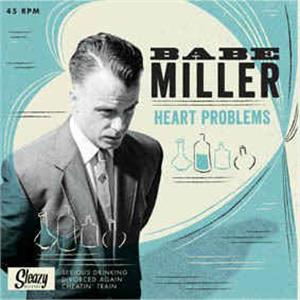 Heart Problems - Babe Miller ‎ - SLEAZY VINYL, SLEAZY