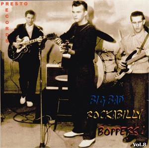 BIG BAD ROCKABILLY BOPPERS VOL 8 (2 CD'S) - VARIOUS - 50's Rockabilly Comp CDs, HDR