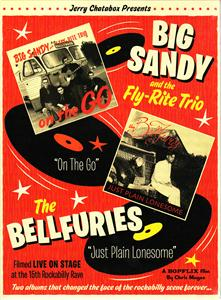 JUST PLAIN LONESOME - BIG SANDY & THE BELLFURIES - DVDs CDs, BOPFLIX