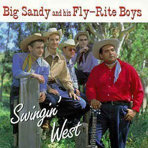 SWINGING WEST - BIG SANDY - NEO ROCKABILLY CD, HIGHTONE