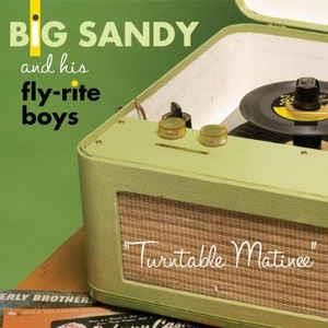TURNTABLE MATINEE - BIG SANDY - NEO ROCKABILLY CD, YEP