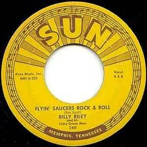FLYING SAUCERS Rock'n'Roll:I WANT YOU BABY - BILLY LEE RILEY - Vinyl CDs, SUN