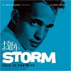 THIS IS THE NIGHT - BILLY  STORM - 50's Artists & Groups CD, EL TORO