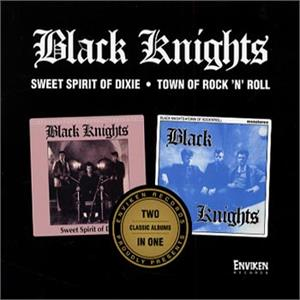 SWEET SPIRIT OF DIXIE / TOWN OF R'N'R - BLACK KNIGHTS - TEDDY BOY R'N'R CDs, ENVIKEN