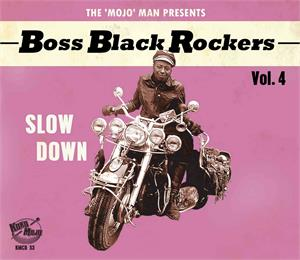 BOSS BLACK ROCKERS VOL 4 - Various Artists - 50's Rhythm 'n' Blues CD, KOKO MOJO