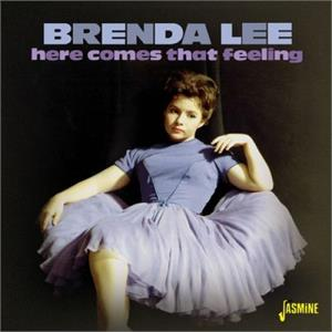 HERE COMES THAT FEELING - BRENDA LEE - 50's Artists & Groups CD, JASMINE
