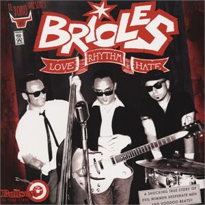 LOVE RHYTHM HATE - BRIOLES - NEO ROCKABILLY CD, EL TORO