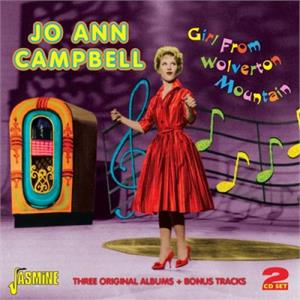 Girl From Wolverton Mountain - Three Original Albums plus Bonus Tracks - Jo Ann CAMPBELL - 50's Artists & Groups CD, JASMINE
