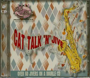 CAT TALK AND JIVE (2 CDs) - Various Artists - 1950'S COMPILATIONS CD, SJJ