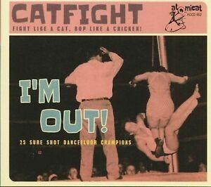 CATFIGHT vol 2 - I'm Out - VARIOUS ARTISTS - 50's Rockabilly Comp CD, ATOMICAT