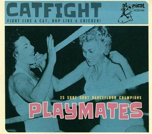 CATFIGHT vol 4 - Playmates - Various - 50's Rockabilly Comp CD, ATOMICAT