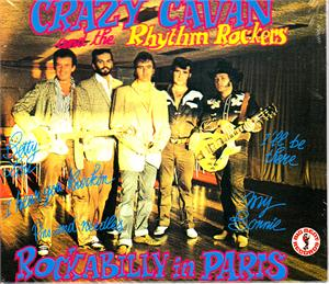 ROCKABILLY IN PARIS - CRAZY CAVAN - TEDDY BOY R'N'R CDs, BIG BEAT