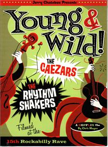 YOUNG & WILD - CEAZERS & THE RHYTHM SHAKERS - YOUNG AND WILD - DVDs VINYL, BOPFLIX