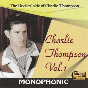 ROCKIN SIDE OF - CHARLIE THOMPSON - NEO ROCKABILLY CD, TAIL