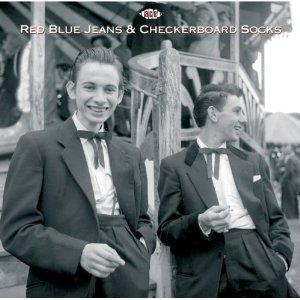Red Blue Jeans & Checkerboard Socks - VARIOUS ARTISTS - 1950'S COMPILATIONS CD, ACE