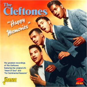 HAPPY MEMORIES - CLEFTONES - DOOWOP CDs, JASMINE