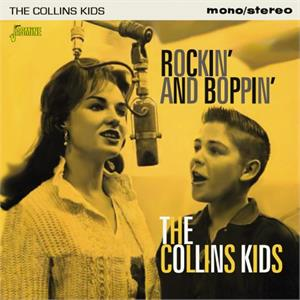 Rockin' and Boppin' - COLLINS KIDS - 50's Artists & Groups CD, JASMINE