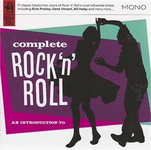 COMPLETE ROCK N ROLL - VARIOUS ARTISTS - 1950'S COMPILATIONS CD, SNAPPER