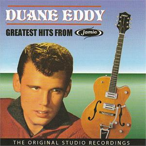 GREATEST HITS FROM JAMIE - DUANE EDDY - INSTRUMENTALS CDs, ABC Paramount
