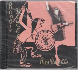 ROCKINITIS - RONNIE DAWSON - 50's Artists & Groups CD, NO HIT