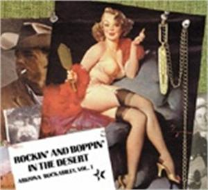 Rockin' And Boppin' In The Desert Rockin' And Boppin' Inol 1 - VARIOUS ARTISTS - 50's Rockabilly Comp CD, BEAR FAMILY