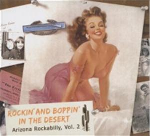 Rockin' And Boppin' In The Desert Vol 2 - VARIOUS ARTISTS - 50's Rockabilly Comp CD, BEAR FAMILY