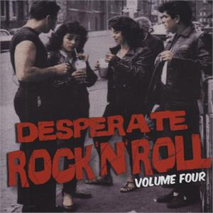 DESPERATE ROCK N ROLL VOL 4 - Various Artists - 1950'S COMPILATIONS CD, FLAME
