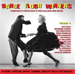 DANCE FLOOR WINNERS VOL 3 - VARIOUS ARTISTS - 1950'S COMPILATIONS CD, GOLDEN BEAVER