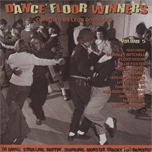 DANCE FLOOR WINNERS VOL5 - VARIOUS - 1950'S COMPILATIONS CDs, GOLDEN BEAVER