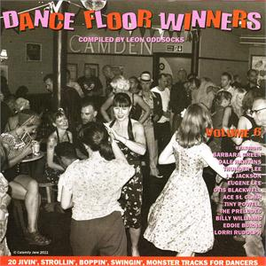 DANCE FLOOR WINNERS VOL6 - VARIOUS ARTISTS - 1950'S COMPILATIONS CD, GOLDEN BEAVER