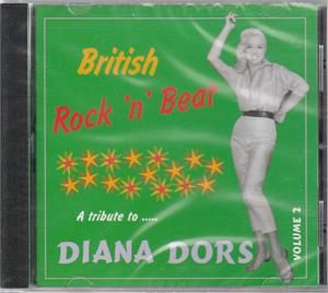 BRITISH ROCK 'N' BEAT VOL 2 - VARIOUS - BRITISH R'N'R CDs, COLLAR N CUFF