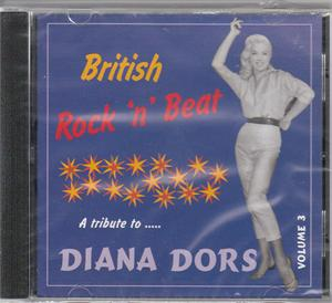BRITISH ROCK 'N' BEAT VOL 3 - VARIOUS - BRITISH R'N'R CDs, COLLAR N CUFF