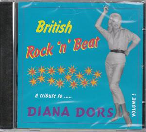 BRITISH ROCK 'N' BEAT VOL 5 - VARIOUS - BRITISH R'N'R CDs, COLLAR N CUFF