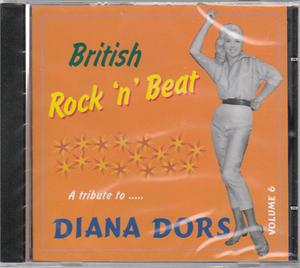 BRITISH ROCK 'N' BEAT VOL 6 - VARIOUS - SALE CDs, COLLAR N CUFF