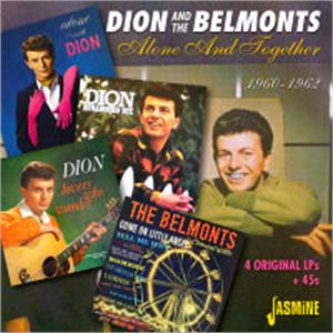 Alone and Together 1960-1962 - Dion & The BELMONTS - DOOWOP VINYL, JASMINE