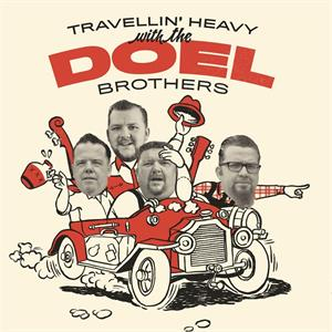Travelling Heavy - DOEL BROTHERS - NEO ROCKABILLY CD, EL TORO