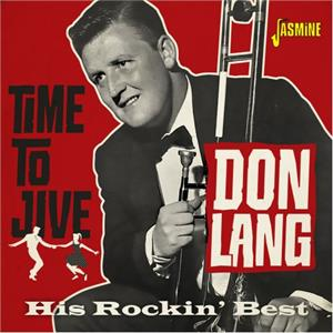 Time to Jive - Don Lang and his Frantic Five - BRITISH R'N'R CD, JASMINE