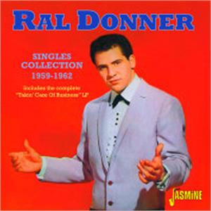 Singles Collection 1959-1962 - RAL DONNER - 50's Artists & Groups VINYL, JASMINE