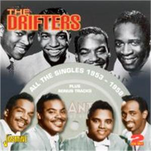 The Singles 1953 - 58 + bonus tracks ( 2 CD'S) - DRIFTERS - DOOWOP CDs, JASMINE