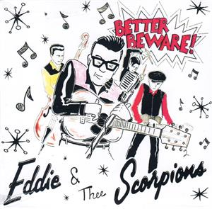 Better Beware - EDDIE and the SCORPIANS - New Releases CDs, WILD