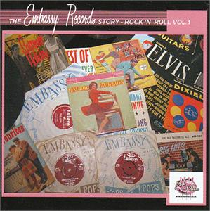 THE EMBASSY RECORD STORY – VOL 1 - VARIOUS - BRITISH R'N'R CDs, PINK N BLACK
