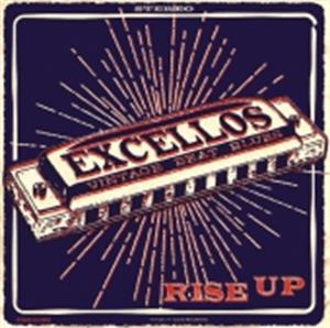 RISE UP - EXCELLOS - NEO ROCKABILLY CD, STAG-O-LEE