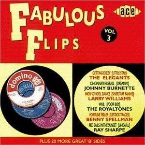 FABULOUS FLIPS VOL 3 - VARIOUS ARTISTS - 1950'S COMPILATIONS CD, ACE