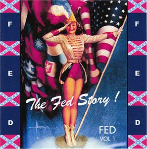 FED STORY VOL 1 - VARIOUS - 1950'S COMPILATIONS CDs, FED